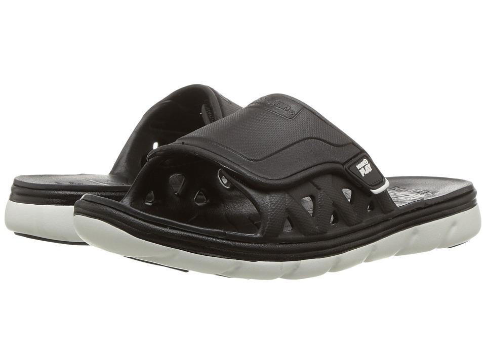 Stride Rite - Made 2 Play Phibian Slide (Toddler/Little Kid) (Black/White) Boy's Shoes