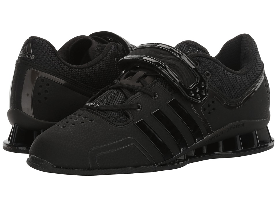 adidas - adipower Weightlift (Core Black/Night/Metallic Silver) Men's Shoes