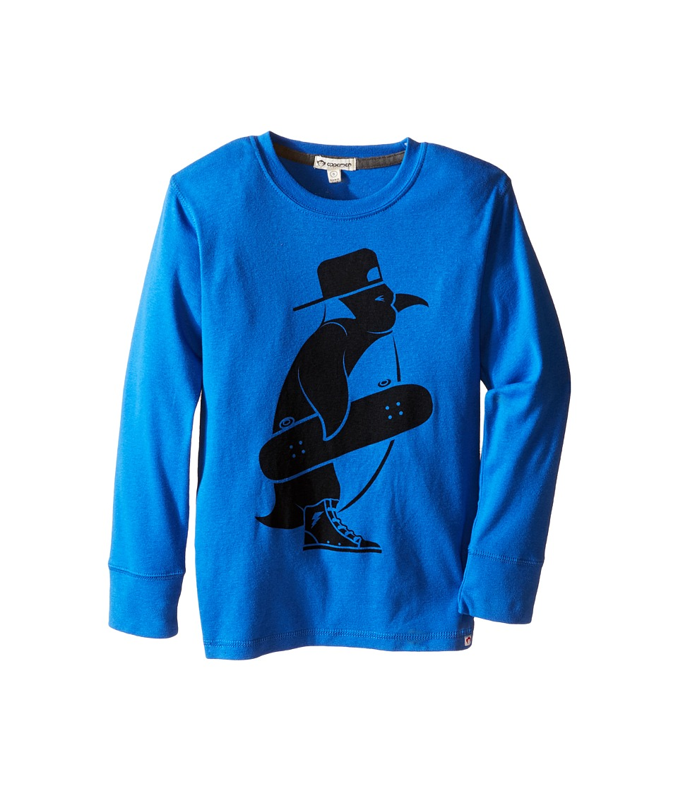 Appaman Kids - Long Sleeve Skater Penguin Tee (Toddler/Little Kids/Big Kids) (Classic Blue) Boy's T Shirt
