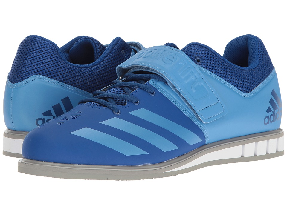 adidas - Powerlift 3 (Collegiate Royal/Tech Blue Metallic/Solid Grey) Men's Shoes