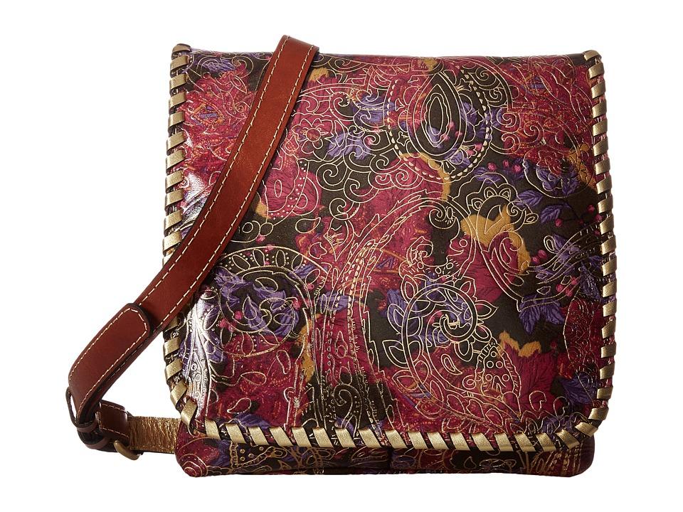 Patricia Nash - Granada Crossbody (Metallic Paisley) Cross Body Handbags