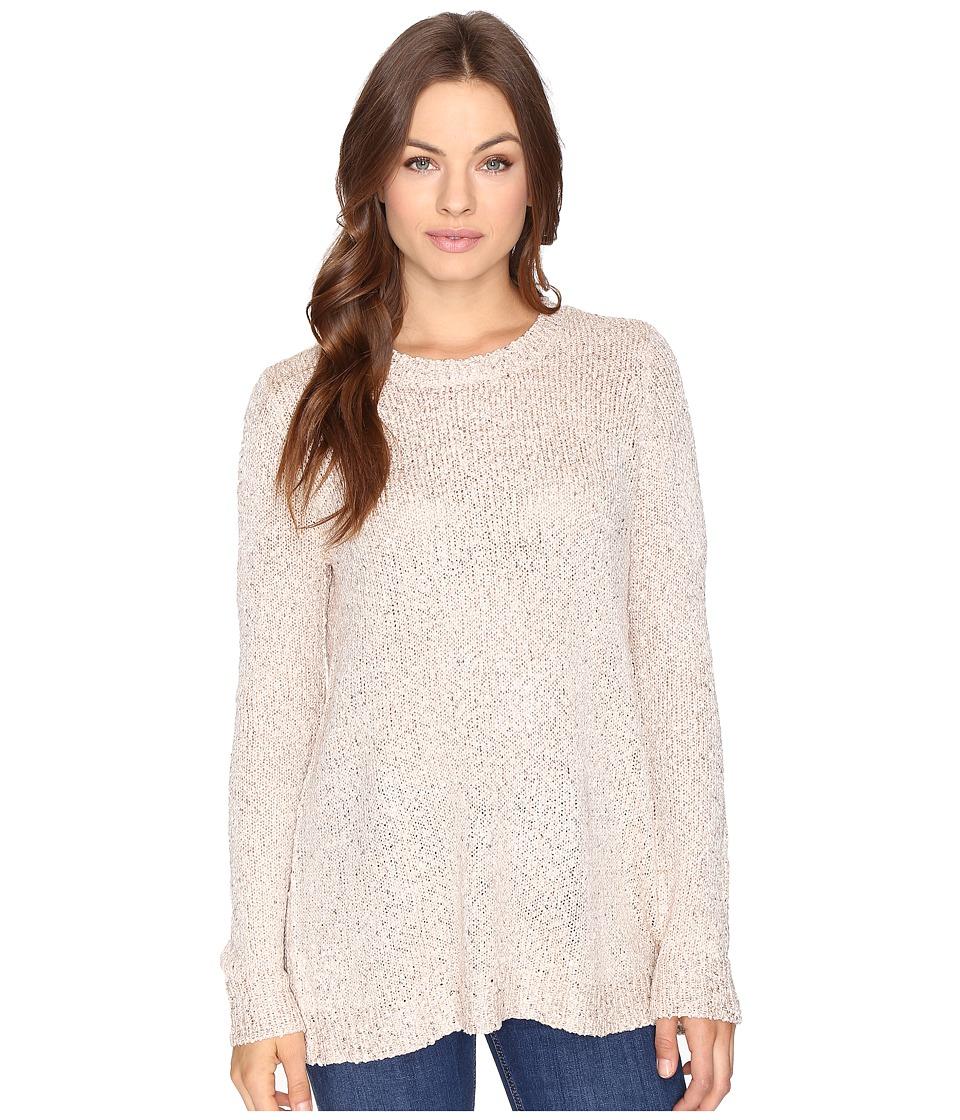 Jack by BB Dakota - Warrane Sequin Sweater w/ Back Detail (Champagne) Women's Sweater