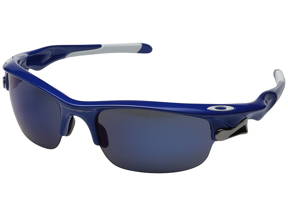 Oakley - Fast Jacket (Team Blue w/ Ice Iridium) Sport Sunglasses