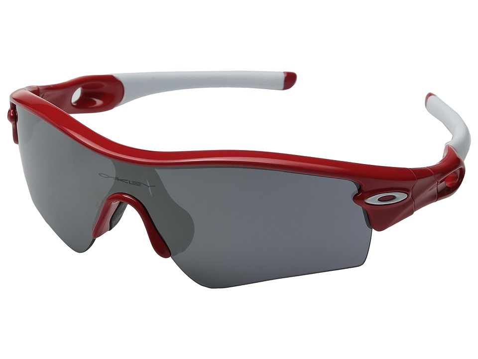 Oakley - MPH Radar Path (Red w/ Black Iridium) Sport Sunglasses