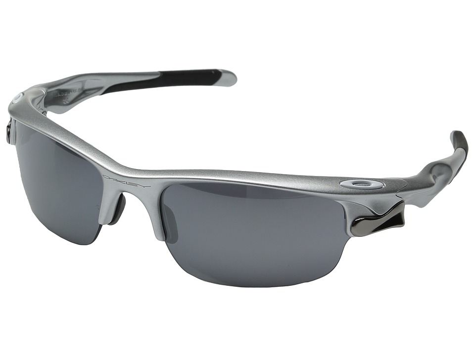 Oakley - Fast Jacket (Silver w/ Black Iridium) Sport Sunglasses
