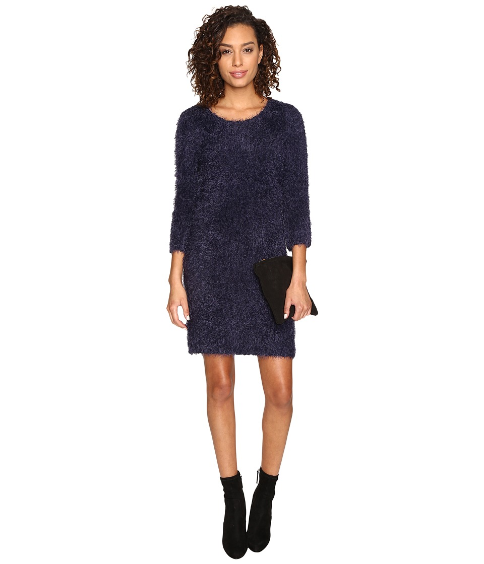 Jack by BB Dakota - Laurentia Eyelash Sweater Dress (Navy) Women's Dress