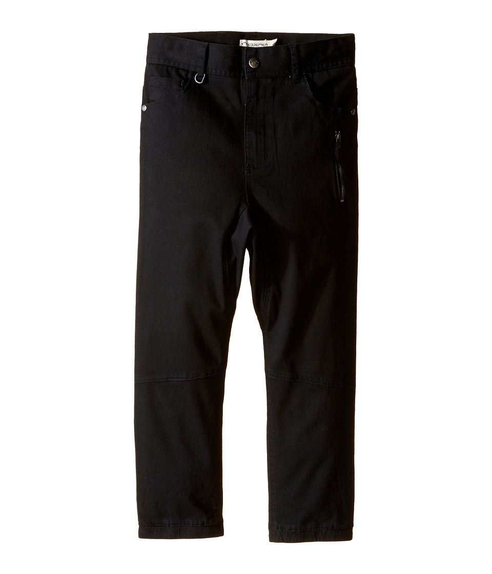 Appaman Kids - Hiro Pants (Toddler/Little Kids/Big Kids) (Black) Boy's Casual Pants