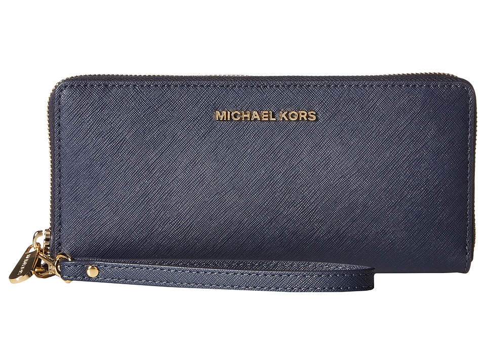 MICHAEL Michael Kors - Jet Set Travel Travel Continental (Admiral) Clutch Handbags