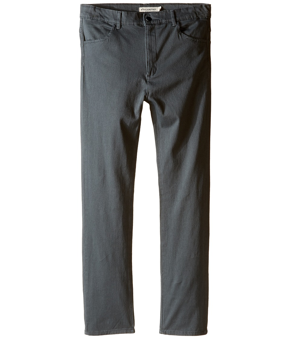 Appaman Kids - Skinny Twill Pants (Toddler/Little Kids/Big Kids) (Gunmetal) Boy's Casual Pants