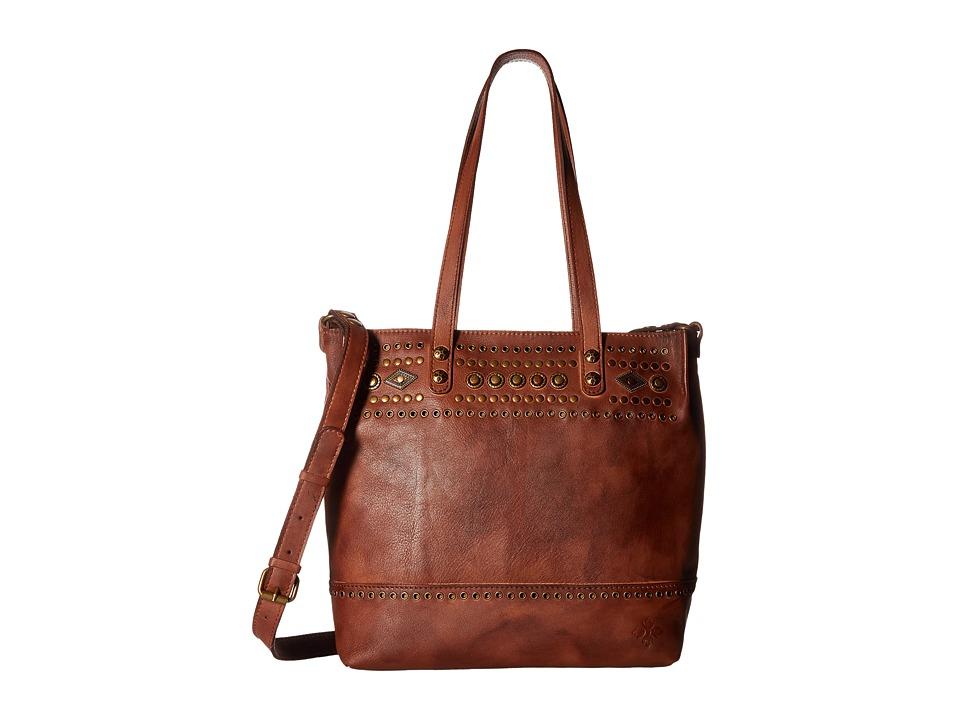 Patricia Nash - Perugia Tote (Tan) Tote Handbags
