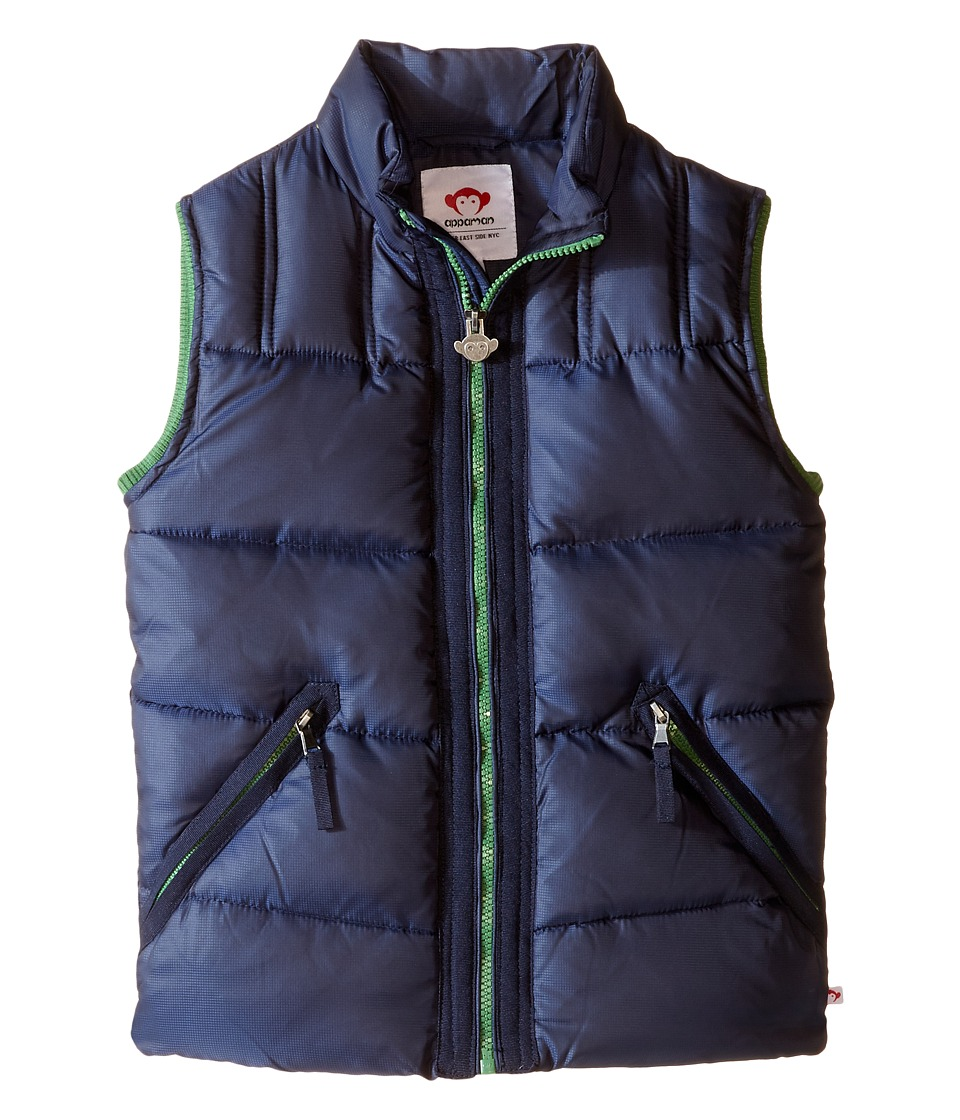 Appaman Kids - East Side Vest (Toddler/Little Kids/Big Kids) (Dress Blues) Boy's Vest