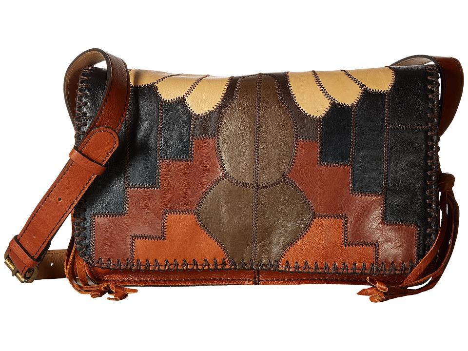 Patricia Nash - Tivoli Crossbody Flap (Zigzag Stitch Patchwork) Cross Body Handbags