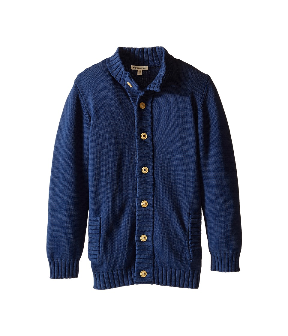 Appaman Kids - Fitz Cardigan (Toddler/Little Kids/Big Kids) (Ensign Blue) Boy's Sweater