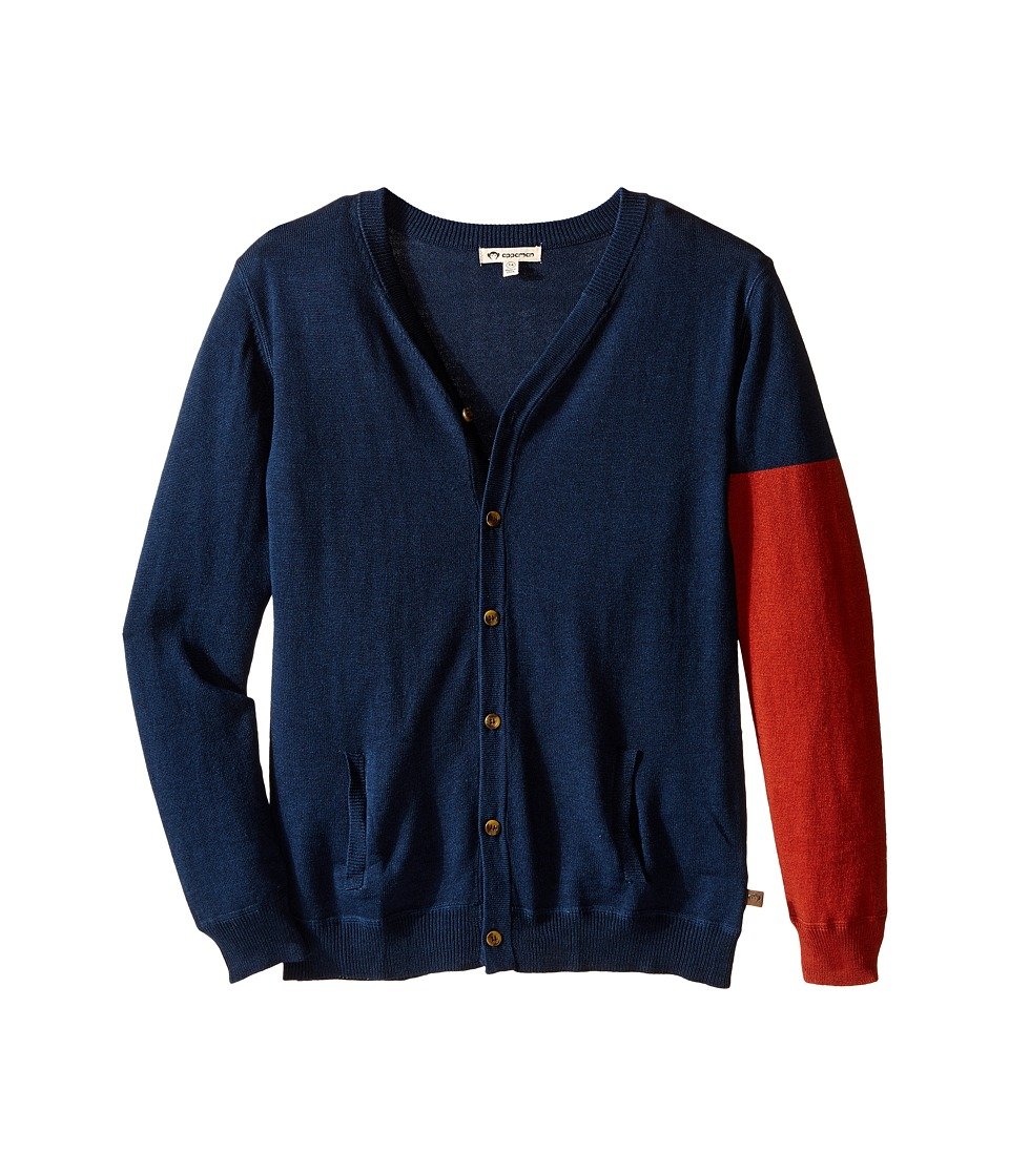 Appaman Kids - Prescott Cardigan (Toddler/Little Kids/Big Kids) (Dress Blues) Boy's Sweater