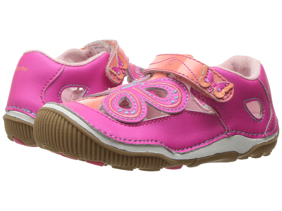Stride Rite - SRT Madison (Toddler) (Pink) Girl's Shoes