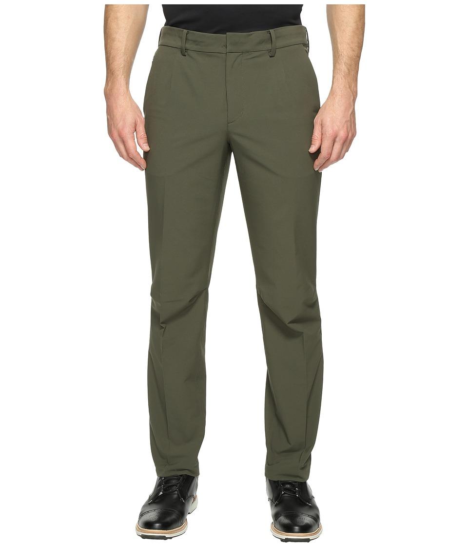 Nike Golf TW Adaptive Fit Woven Pants (Cargo Khaki/Black) Men