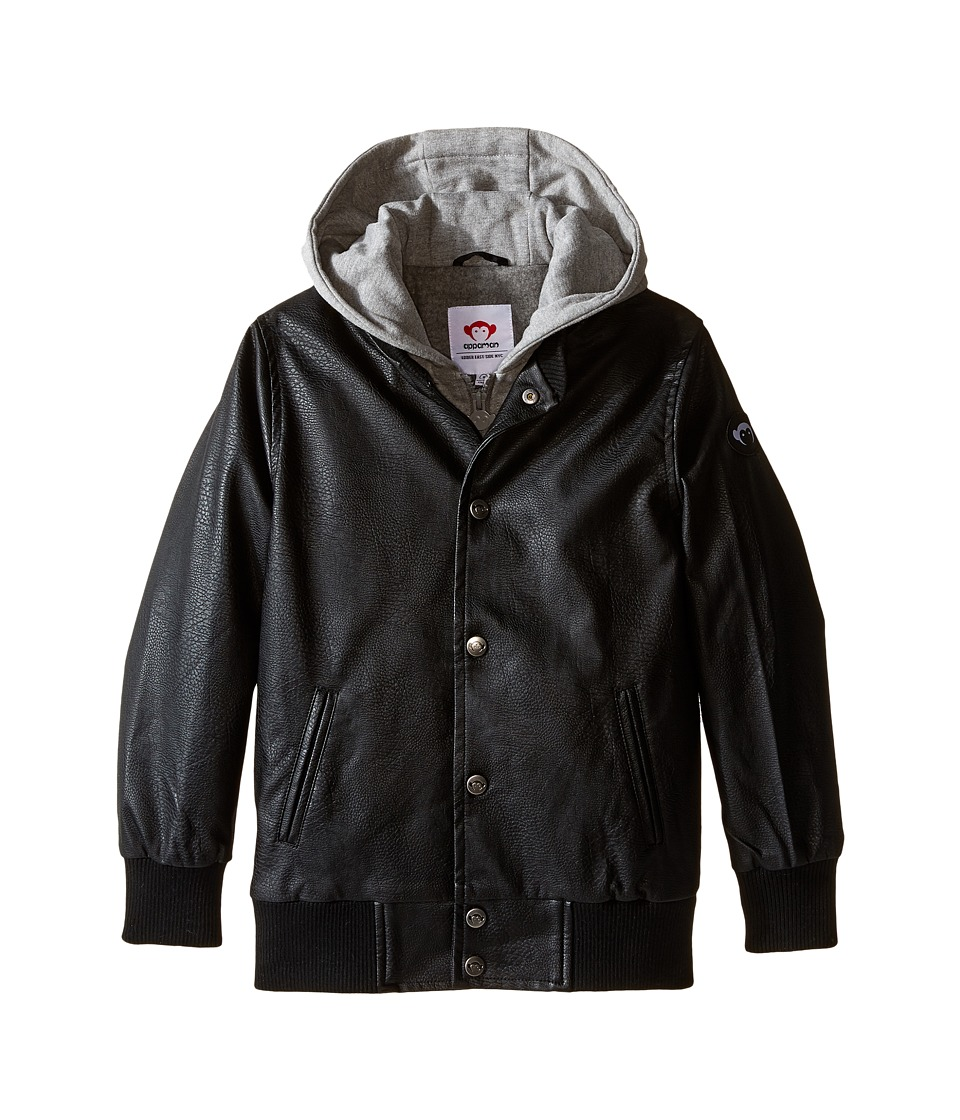 Appaman Kids - Big H Jacket (Toddler/Little Kids/Big Kids) (Black) Boy's Coat