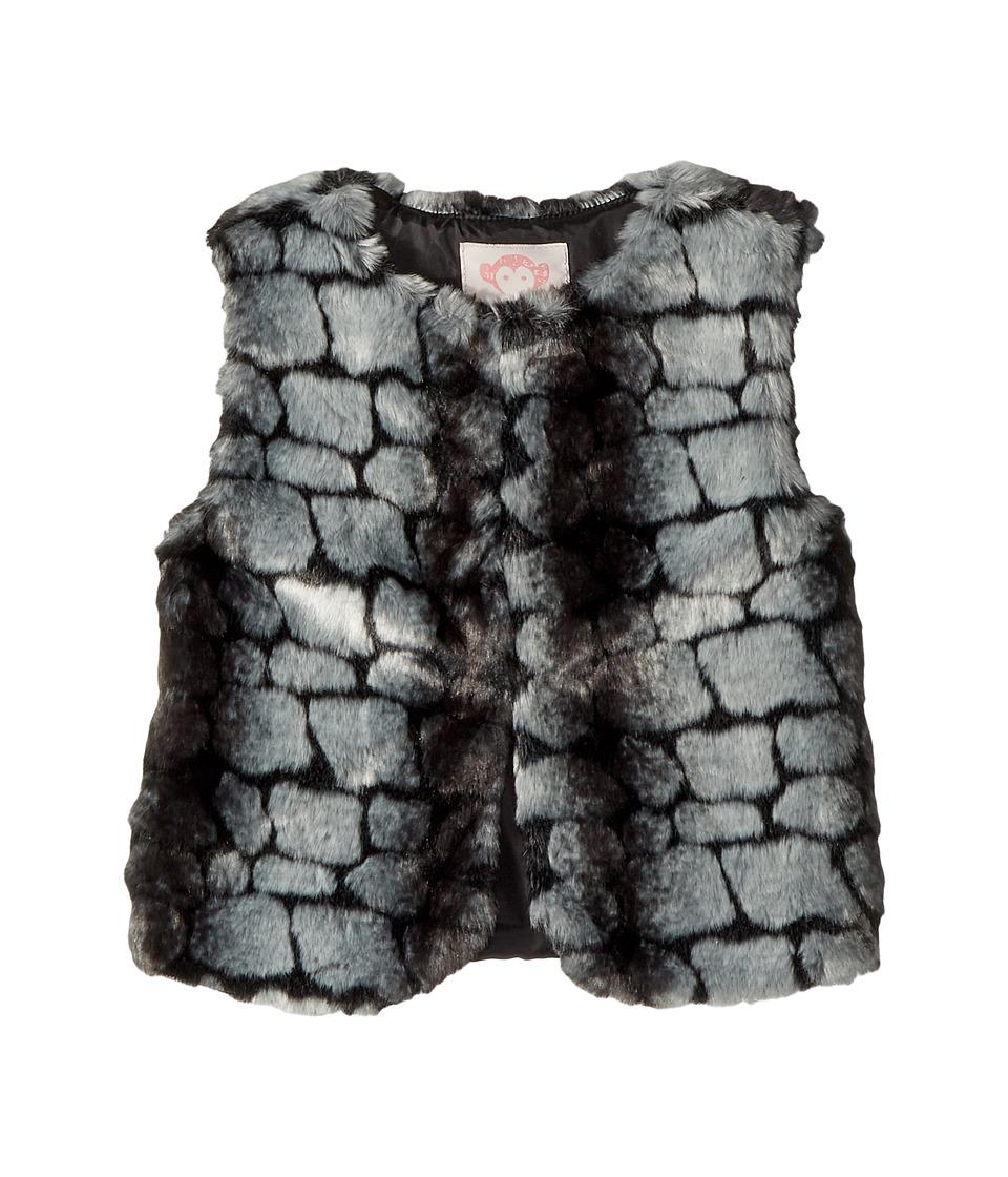 Appaman Kids - Faux Fur Vest (Toddler/Little Kids/Big Kids) (Pebblue Fur) Girl's Vest
