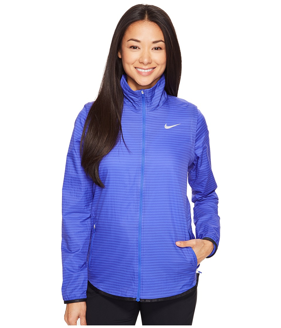 Nike Golf - Majors Convertible Jacket (Paramount Blue/Metallic Silver) Women's Coat
