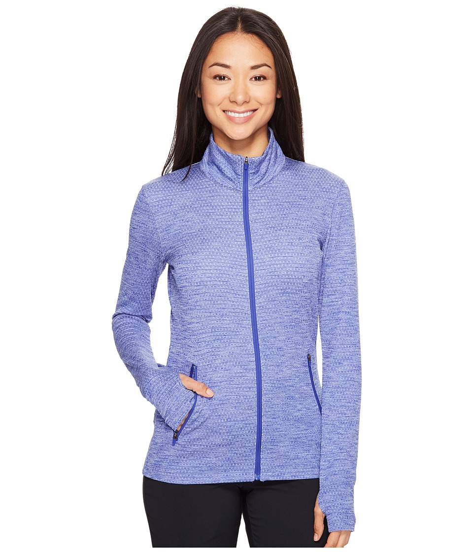 Nike  NIKE GOLF - LUCKY AZALEA FULL-ZIP JACKET (DEEP NIGHT/WHITE) WOMEN'S COAT