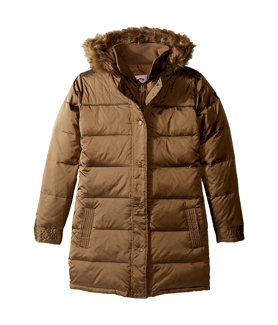 Appaman Kids - Long Down Coat (Toddler/Little Kids/Big Kids) (Vegas Gold) Girl's Coat