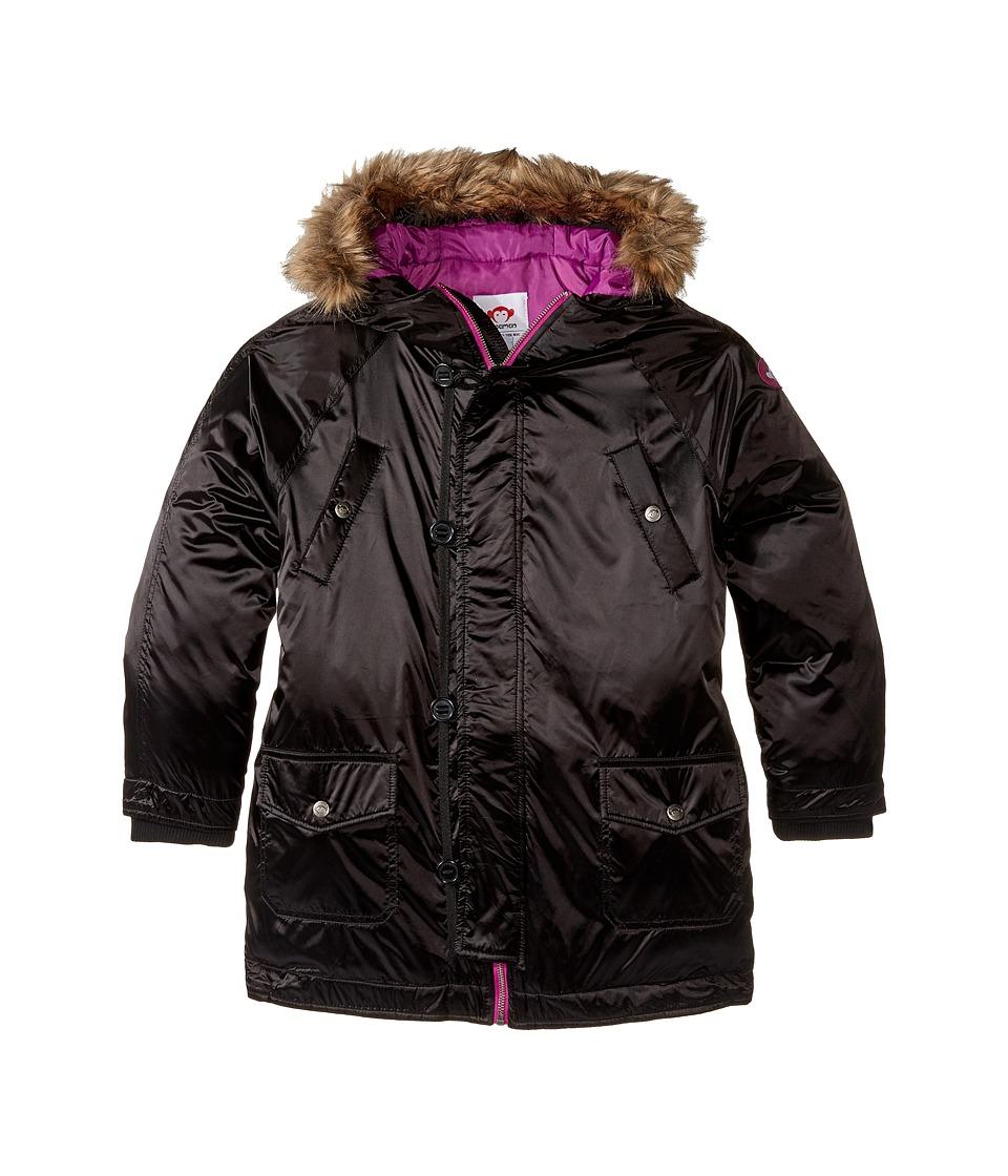 Appaman Kids - Morningside Anorak (Toddler/Little Kids/Big Kids) (Black) Girl's Coat