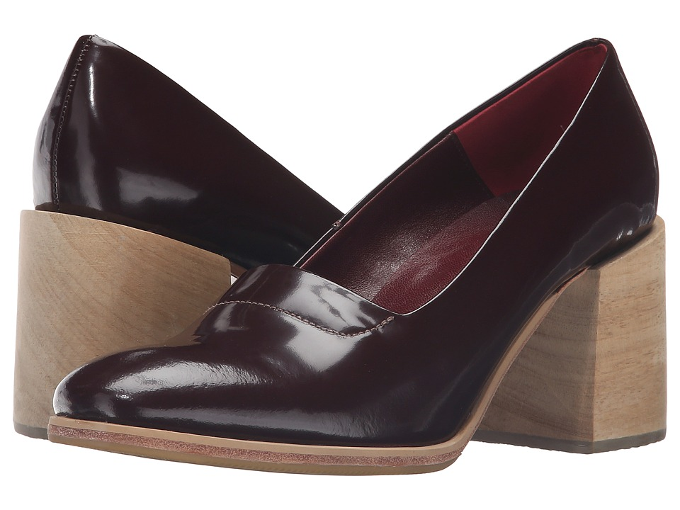 Rachel Comey - Leeds (Bordo Satinado) Women's Shoes