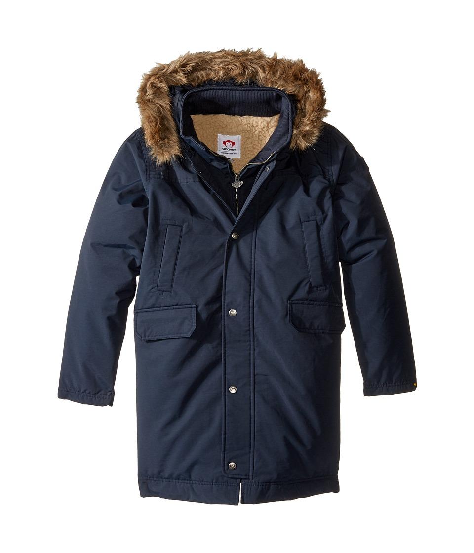 Appaman Kids - Pratt Down Parka (Toddler/Little Kids/Big Kids) (Dress Blues) Boy's Coat