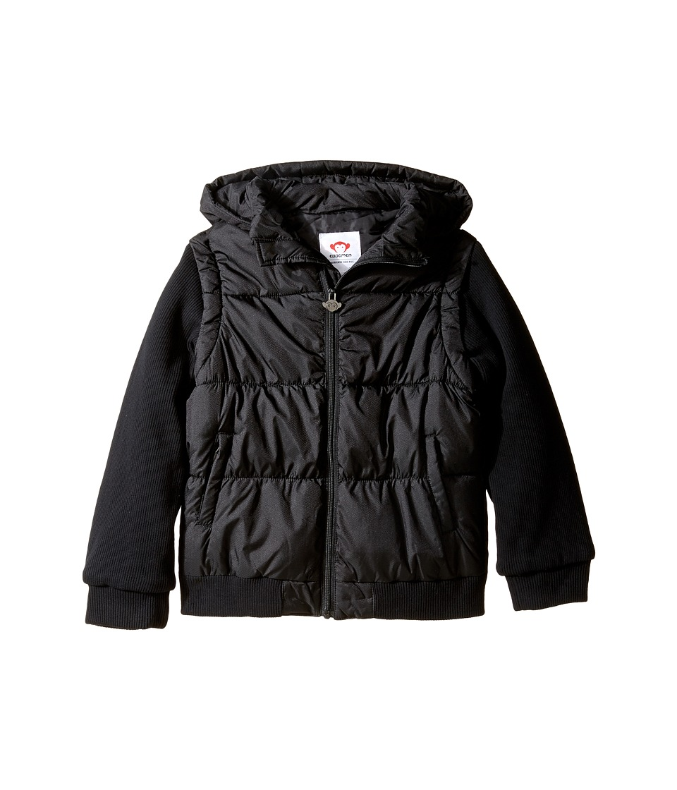Appaman Kids - Turnstile Convertible Jacket (Toddler/Little Kids/Big Kids) (Black) Boy's Coat