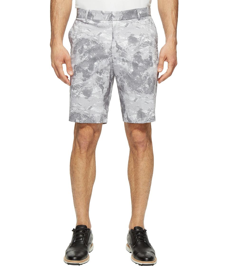 Nike Golf - Modern Fit Seasonal Print Shorts (White/White) Men's Shorts