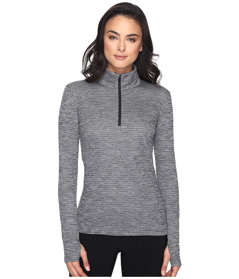 Nike Golf - Lucky Azalea 1/2 Zip 3.0 (Black/Black) Women's Long Sleeve Pullover
