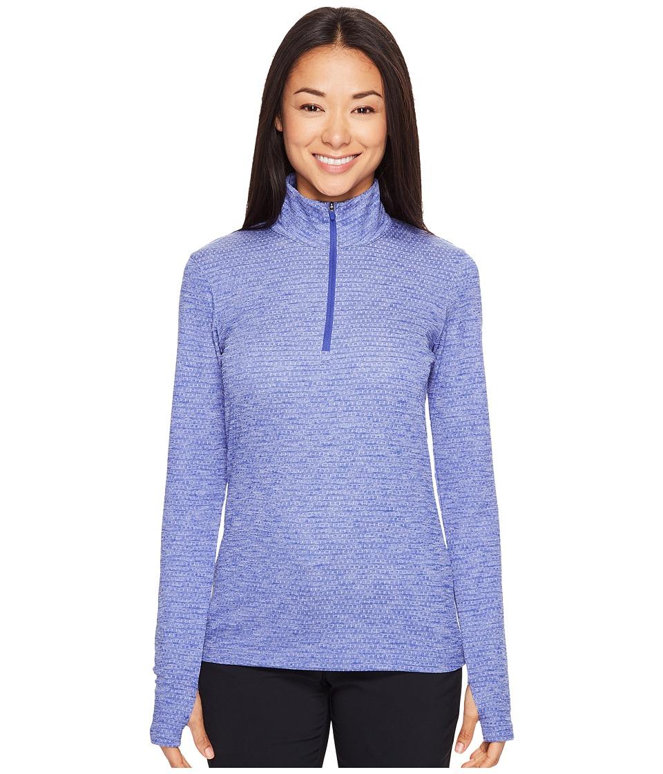 Nike Golf - Lucky Azalea 1/2 Zip 3.0 (Deep Night/White) Women's Long Sleeve Pullover