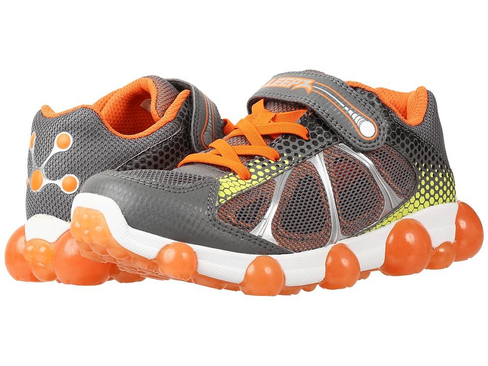 Stride Rite - Leepz (Toddler/Little Kid) (Grey/Orange 1) Boy's Shoes