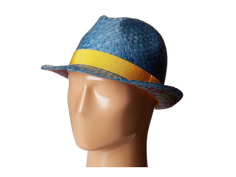 Etro - Gradient Panama Hat (Blue) Caps