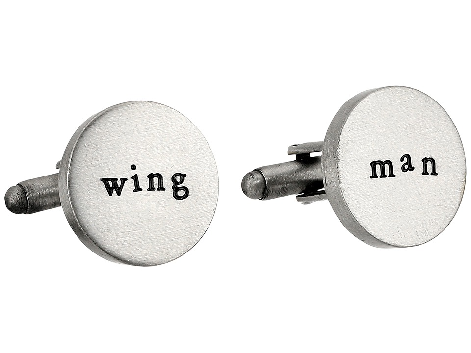 Cufflinks Inc. - Wing Man Cufflinks (Silver) Cuff Links