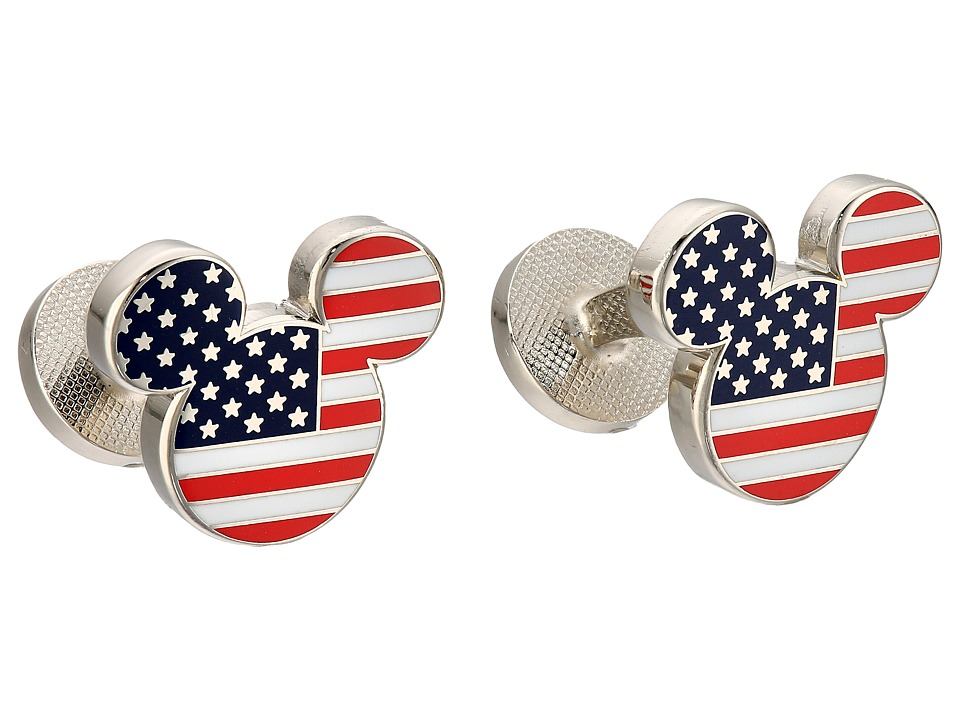 Cufflinks Inc. - Stars and Stripes Mickey Mouse Cufflinks (Multi) Cuff Links