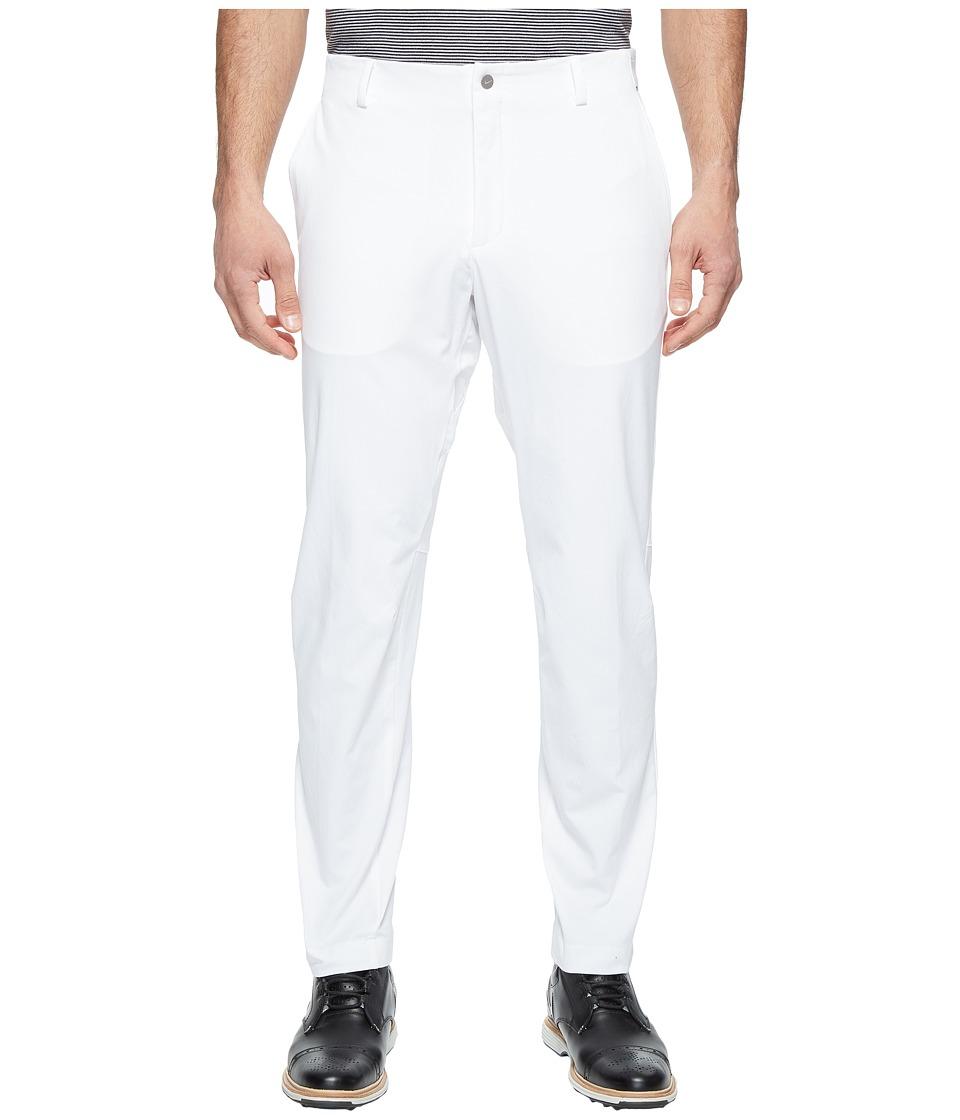 Nike Golf - Dynamic Woven Pants (White/Reflective Black) Men's Casual Pants
