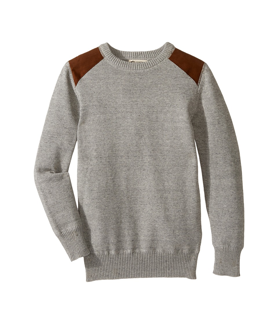 Appaman Kids - Skillman Sweater (Toddler/Little Kids/Big Kids) (Grey Heather) Boy's Sweater
