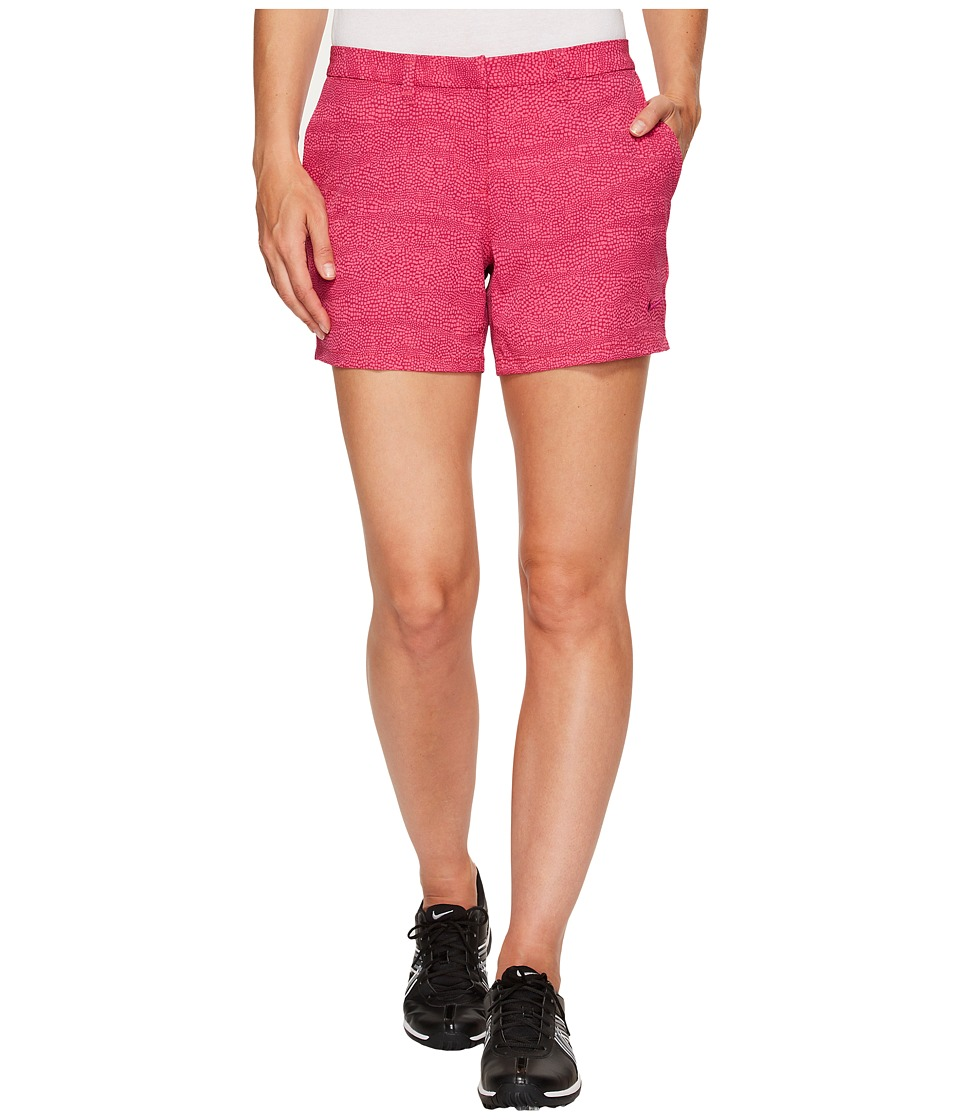 Nike Golf - Printed 4.5 Shorts (True Berry/Vivid Pink/True Berry) Women's Shorts