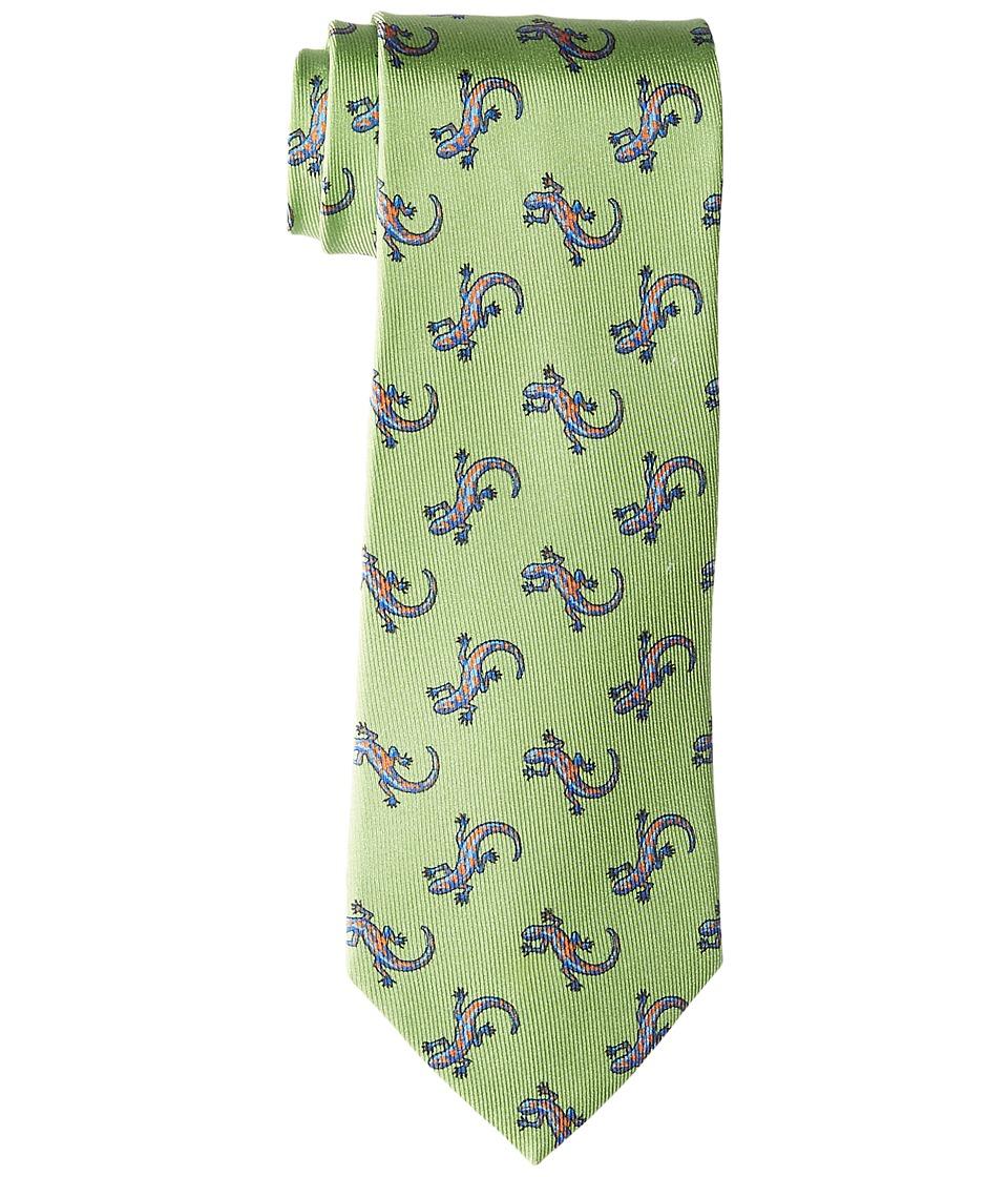 Etro - 8cm Geckos Lightweight Necktie (Green) Ties