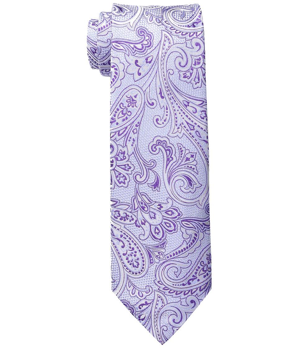Etro - 8cm Large Print Paisley Necktie (Lavendar) Ties