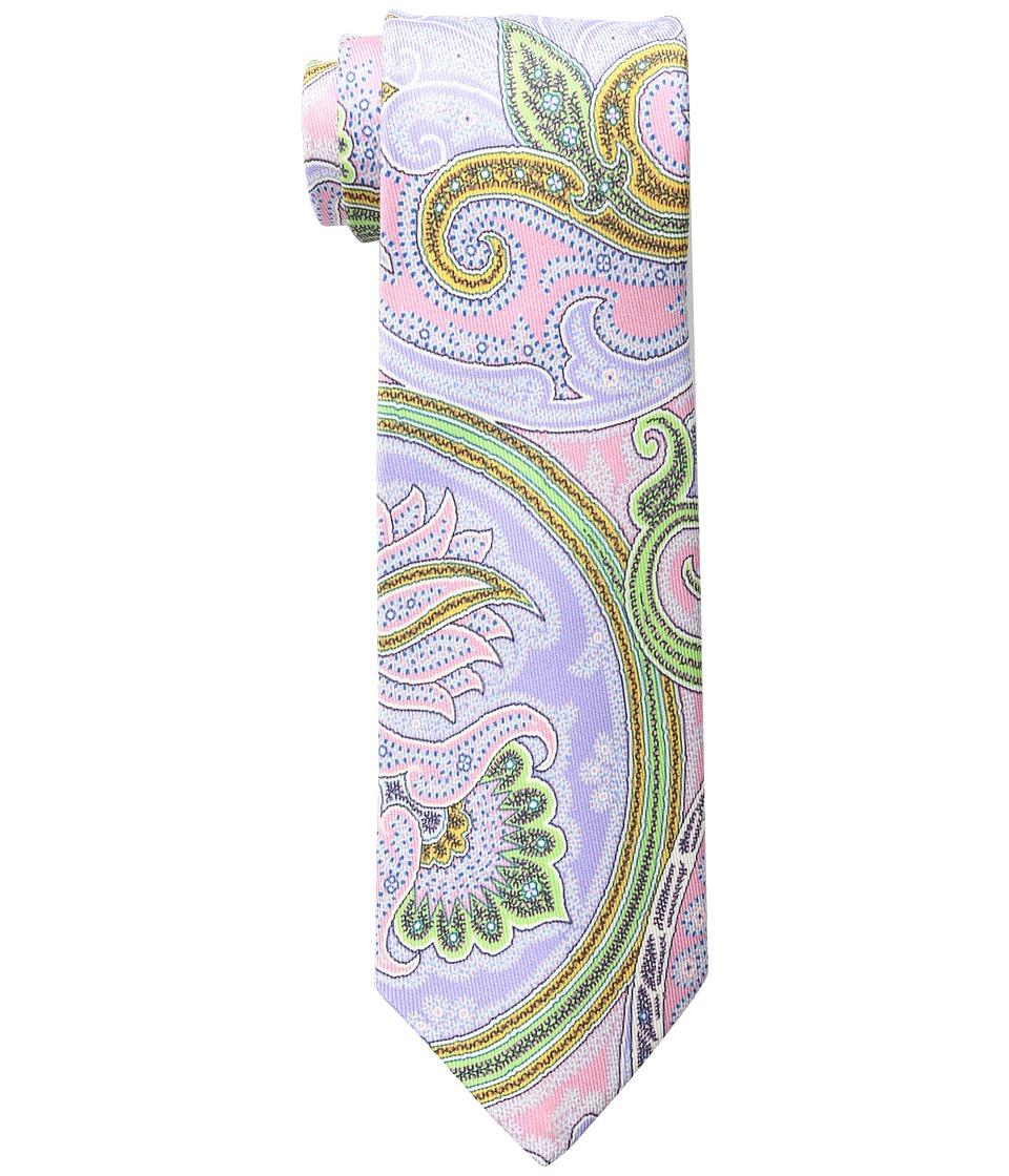 Etro - 8cm Opulent Paisley Necktie (Pink) Ties