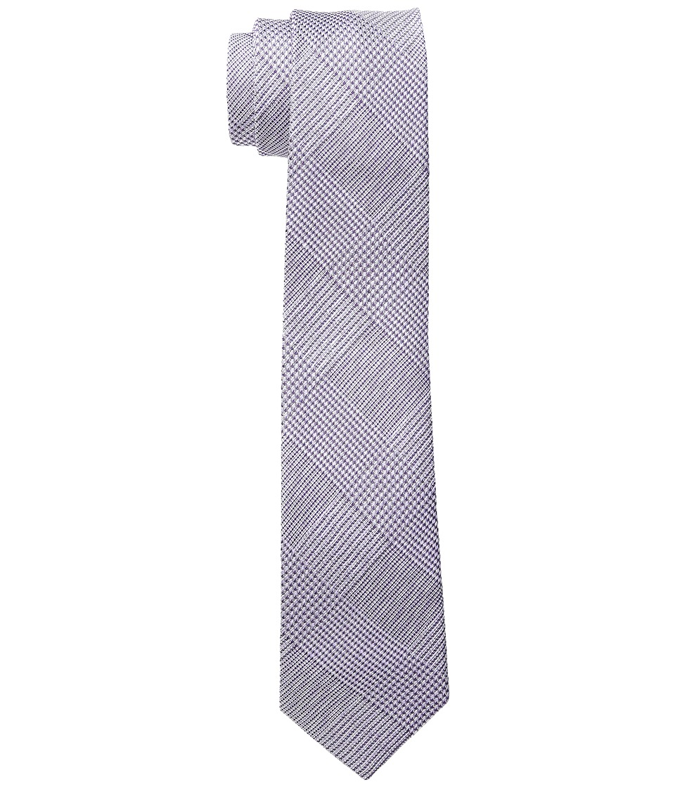 Etro - 6cm Crosshatch Necktie (Lavendar) Ties