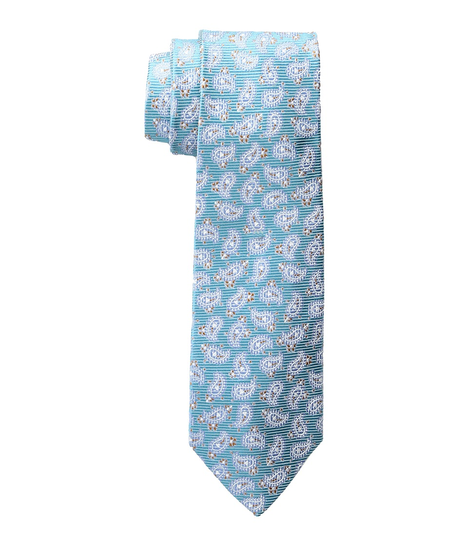 Etro - 8cm Floating Paisley Necktie (Blue) Ties