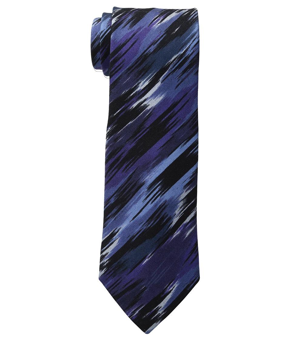 Etro - 8cm Ikat Necktie (Blue) Ties