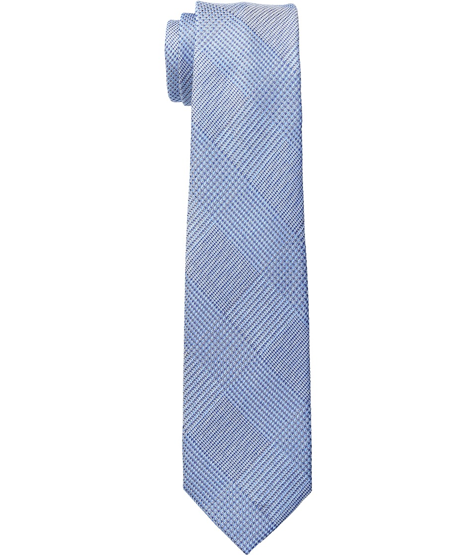 Etro - 6cm Crosshatch Necktie (Blue) Ties