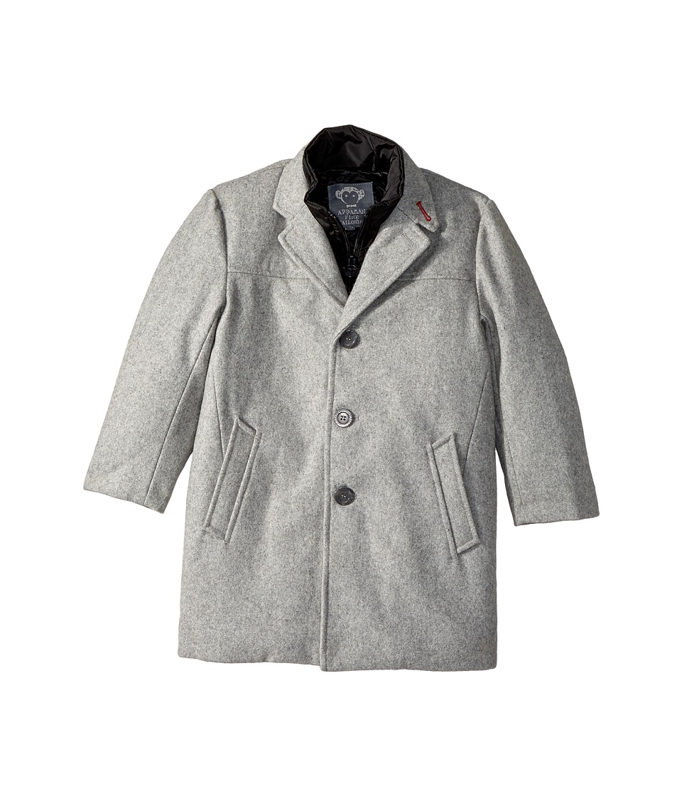 Appaman Kids - City Overcoat (Toddler/Little Kids/Big Kids) (Stone Grey) Boy's Coat