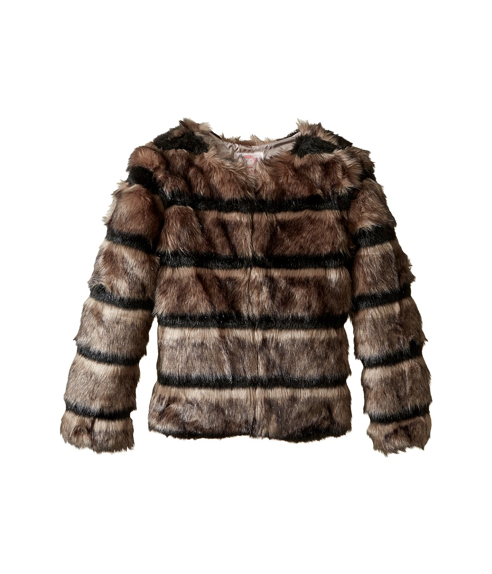 Appaman Kids - Faux Fur Coat (Toddler/Little Kids/Big Kids) (Wolf Grey) Girl's Coat
