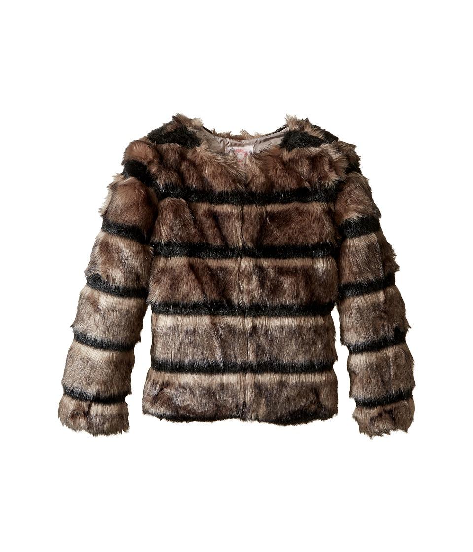 Appaman Kids - Faux Fur Coat (Toddler/Little Kids/Big Kids) (Wolf Grey) Girl's Coat