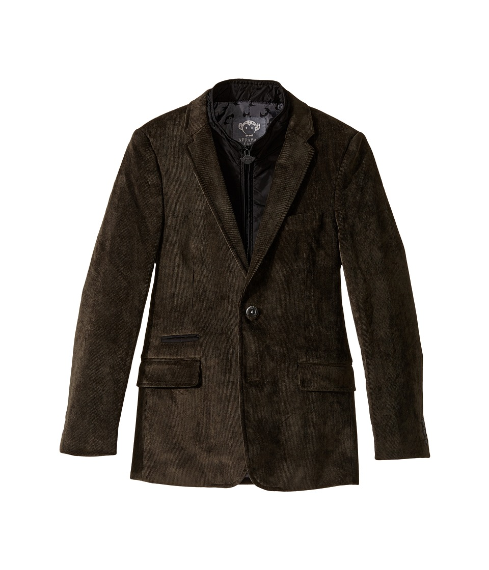 Appaman Kids - Executive Blazer (Toddler/Little Kids/Big Kids) (Vintage Black) Boy's Jacket